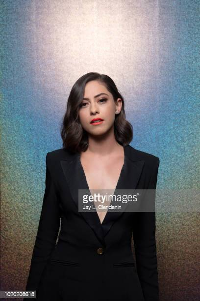 Actress Rosa Salazar from 'Alita' is photographed for Los Angeles Times on July 20 2018 in San Diego California PUBLISHED IMAGE CREDIT MUST READ Jay...