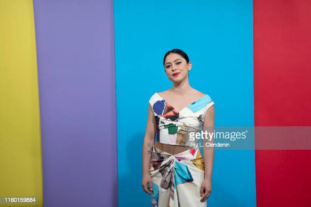 Actress Rosa Salazar of 'Undone' is photographed for Los Angeles Times at ComicCon International on July 19 2019 in San Diego California PUBLISHED...