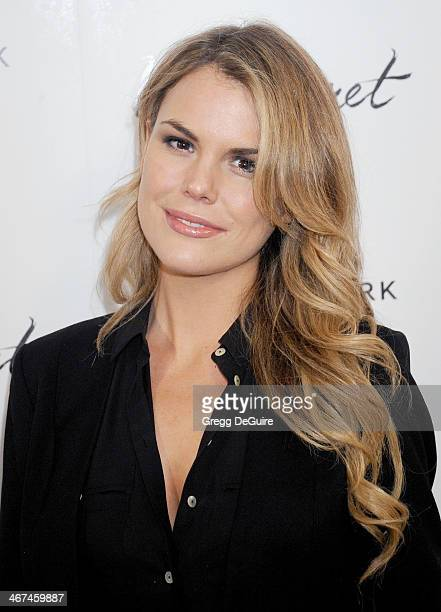 Actress Rosalind Lipsett arrives at the Los Angeles premiere of 'In Secret' at ArcLight Hollywood on February 6 2014 in Hollywood California