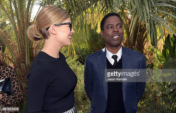 Actress Rosamund Pike and Comedian Chris Rock attend Variety's Creative Impact Awards and '10 Directors To Watch' brunch presented by Mercedes Benz...