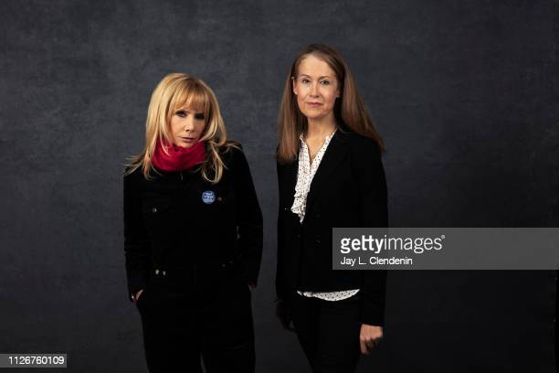 Actress Rosanna Arquette and director Ursula Macfarlane, from 'Untouchable' are photographed for Los Angeles Times on January 25, 2019 at the 2019...