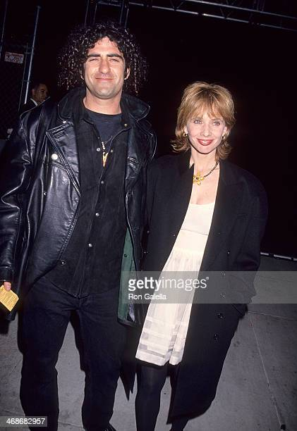Actress Rosanna Arquette and husband John Sidel attend Richard Tyler's First Collection for Anne Klein Fashion Show and Screening of Johnny Depp's...