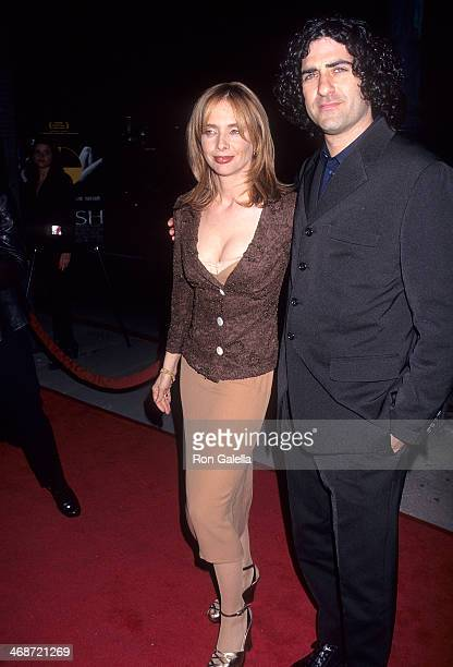 Actress Rosanna Arquette and husband John Sidel attend the Crash Beverly Hills Premiere on March 19 1997 at AMC Cecchi Gori in Beverly Hills...