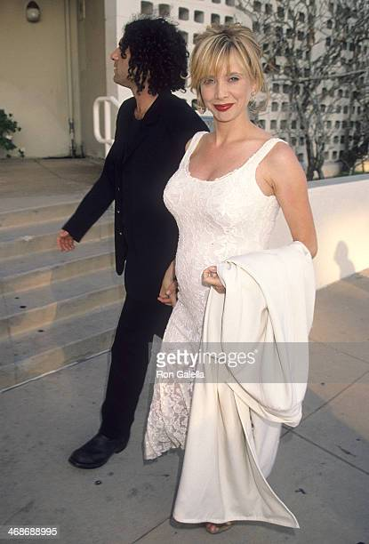 Actress Rosanna Arquette and husband John Sidel attend the Mi Vida Loca Hollywood Premiere on July 18 1994 at the Cinerama Dome Theatre in Hollywood...