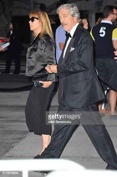 Actress Rosanna Arquette and husband Todd Morgan attend Los Angeles Philharmonic's 2016/17 Opening Night Gala Gershwin and the Jazz Age at Walt...