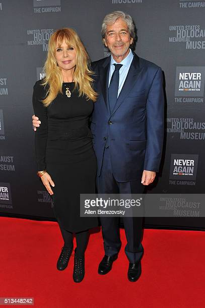 Actress Rosanna Arquette and husband Todd Morgan attend the 2016 Los Angeles Dinner What You Do Matters presented by the United States Holocaust...
