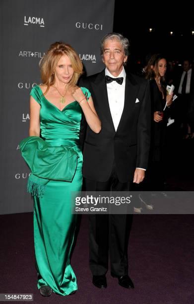 Actress Rosanna Arquette and Todd Morgan arrive at LACMA Art Gala at LACMA on October 27 2012 in Los Angeles California