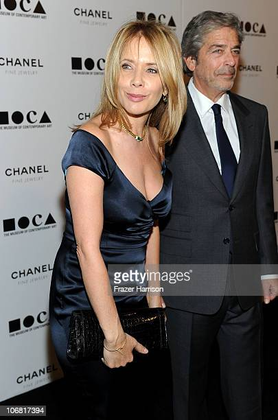 Actress Rosanna Arquette and Todd Morgan arrive at The Artist's Museum Happening MOCA Los Angeles Gala sponsored by Chanel Fine Jewelry held at MOCA...
