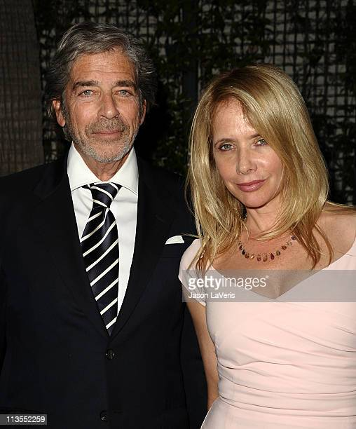 Actress Rosanna Arquette and Todd Morgan attend Geffen Playhouse's annual fundraiser Backstage at the Geffen at Geffen Playhouse on May 2 2011 in Los...