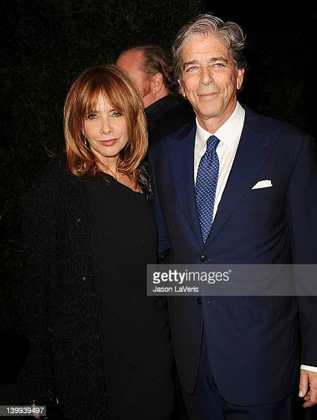Actress Rosanna Arquette and Todd Morgan attend the Chanel preOscar dinner at Madeo Restaurant on February 25 2012 in Los Angeles California