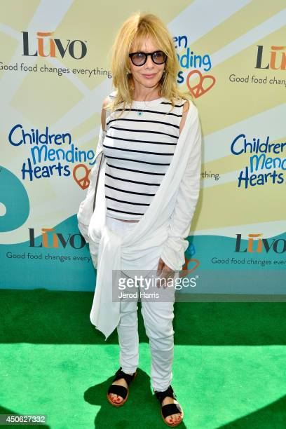 Actress Rosanna Arquette arrives at Children Mending Hearts' 6th Annual Fundraiser 'Empathy Rocks A Spring Into Summer Bash' on June 14 2014 in...
