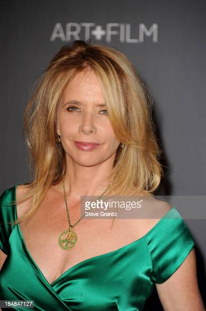 Actress Rosanna Arquette arrives at LACMA Art + Gala at LACMA on October 27, 2012 in Los Angeles, California.