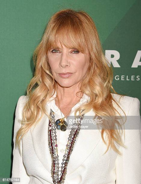 Actress Rosanna Arquette arrives at the Variety's Power Of Women Luncheon 2016 at the Beverly Wilshire Four Seasons Hotel on October 14 2016 in...