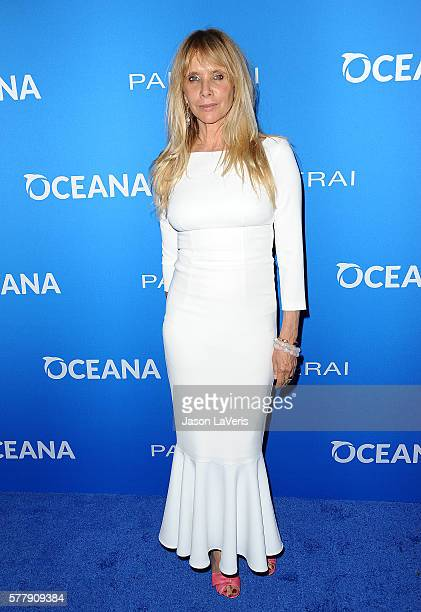 Actress Rosanna Arquette attends Oceana Sting Under the Stars on July 18 2016 in Los Angeles California