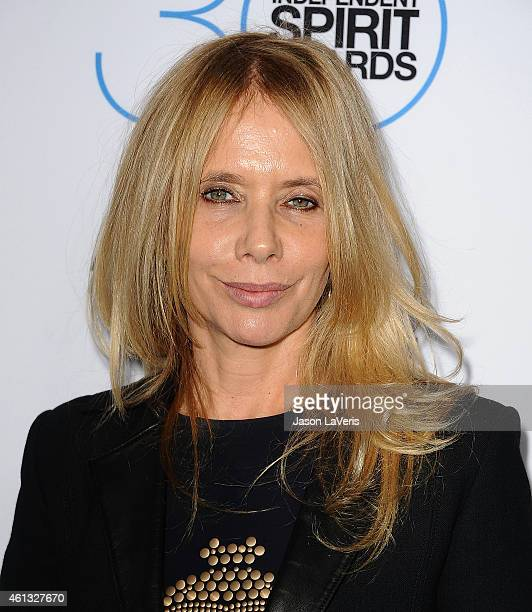 Actress Rosanna Arquette attends the 2015 Film Independent filmmaker grant and Spirit Awards nominees brunch at BOA Steakhouse on January 10 2015 in...