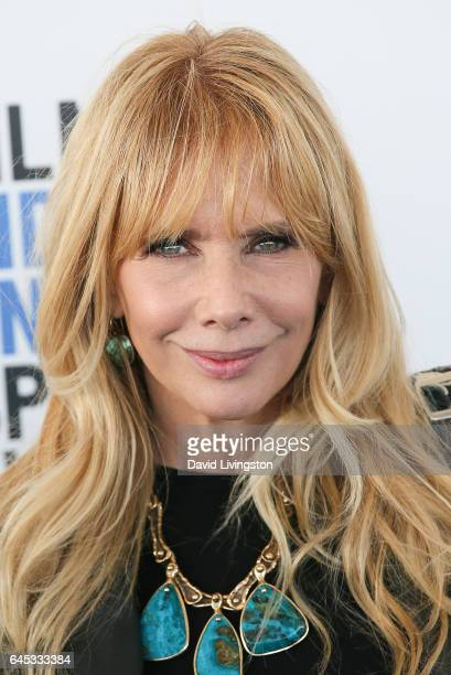Actress Rosanna Arquette attends the 2017 Film Independent Spirit Awards on February 25 2017 in Santa Monica California