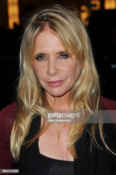 Actress Rosanna Arquette attends the 4th Annual CineFashion Film Awards at El Capitan Theatre on October 8 2017 in Los Angeles California