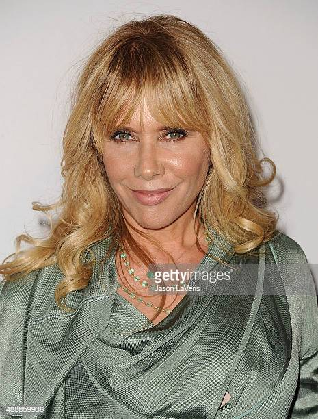 Actress Rosanna Arquette attends the Broad Museum black tie inaugural dinner at The Broad on September 17, 2015 in Los Angeles, California.