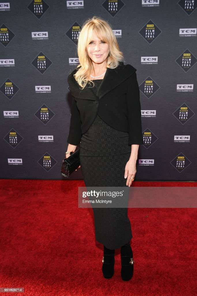 Actress Rosanna Arquette attends the screening of Murder on the Orient Express during Day 1 of the 2018 TCM Classic Film Festival on April 26, 2018 in Hollywood, California. 350620.