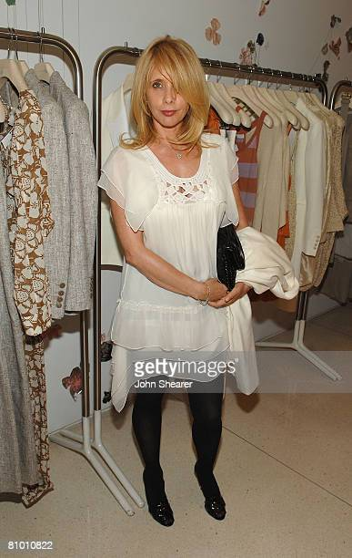 Actress Rosanna Arquette attends the Stella McCartney screening of The Party at the Stella McCartney store on May 6 2008 in West Hollywood California