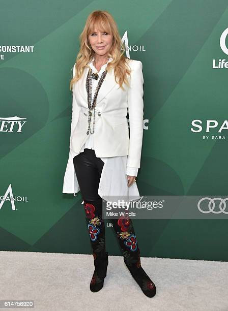 Actress Rosanna Arquette attends Variety's Power of Women Luncheon 2016 at the Beverly Wilshire Four Seasons Hotel on October 14 2016 in Beverly...