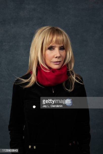 Actress Rosanna Arquette from 'Untouchable' is photographed for Los Angeles Times on January 25 2019 at the 2019 Sundance Film Festival in Salt Lake...