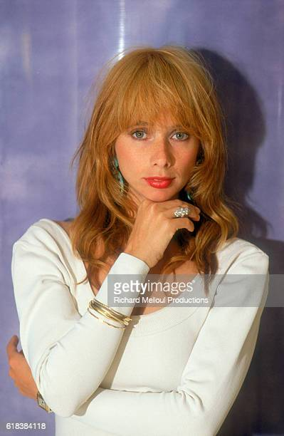 Actress Rosanna Arquette is in Cannes France She is attending the 1987 Cannes Film Festival