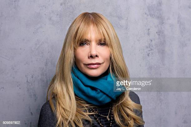 Actress Rosanna Arquette of 'Lovesong' poses for a portrait at the 2016 Sundance Film Festival on January 24 2016 in Park City Utah CREDIT MUST READ...