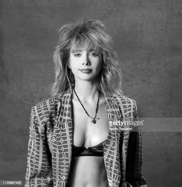 Actress Rosanna Arquette poses for a portrait circa 1985 in Los Angeles, California