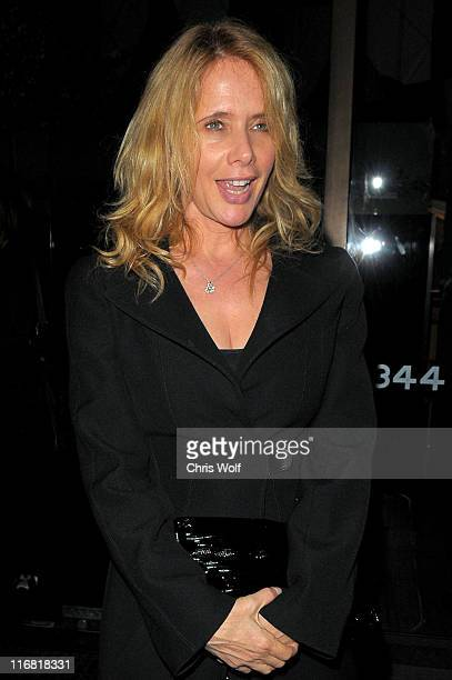 Actress Rosanna Arquette sighting at Mr Chow on April 7 2008 in Beverly Hills California