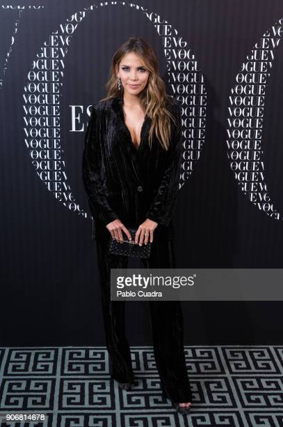 Actress Rosanna Zanetti attends a dinner hosted by Vogue for Victoria Beckham to celebrate the February issue of Vogue Magazine at Santo Mauro Hotel...