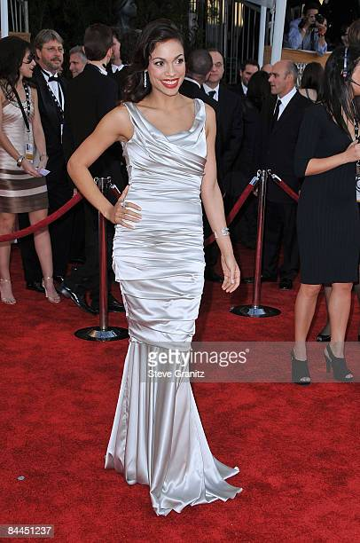 Actress Rosario Dawson arrives at the 15th Annual Screen Actors Guild Awards held at the Shrine Auditorium on January 25, 2009 in Los Angeles,...