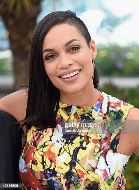 Actress Rosario Dawson attends 'Captives' photocall at the 67th Annual Cannes Film Festival on May 16 2014 in Cannes France