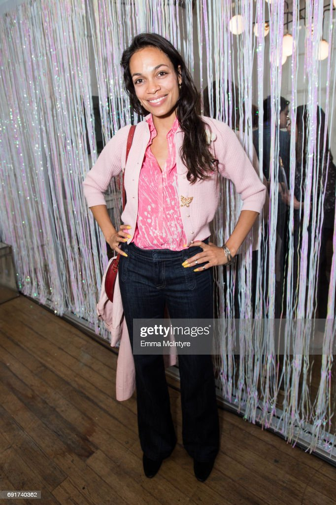 Actress Rosario Dawson attends 'Super Deluxe and Sarah Ramos present a live reading of City Girl' on June 2, 2017 in Los Angeles, California.