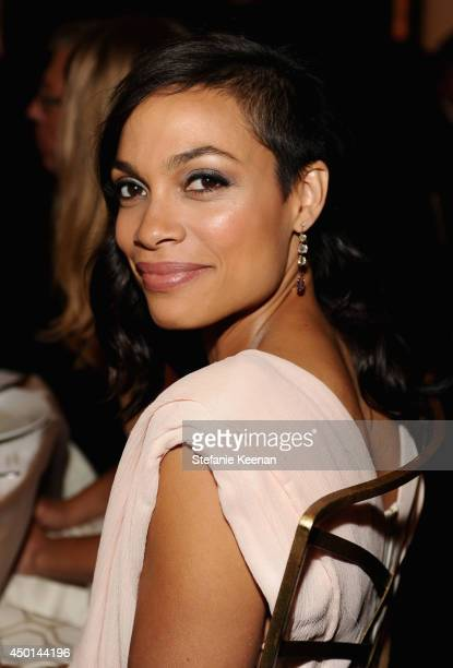 Actress Rosario Dawson attends the 2014 AFI Life Achievement Award A Tribute to Jane Fonda at the Dolby Theatre on June 5 2014 in Hollywood...