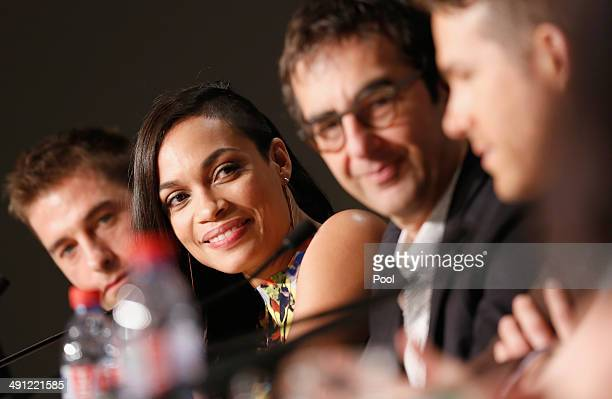 Actress Rosario Dawson attends the Captives press conference during the 67th Annual Cannes Film Festival on May 16 2014 in Cannes France