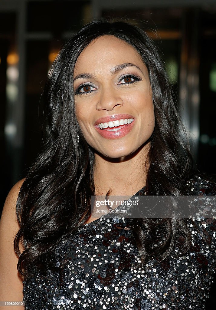 Actress Rosario Dawson attends The Hip-Hop Inaugural Ball II at Harman Center for the Arts on January 20, 2013 in Washington, DC.