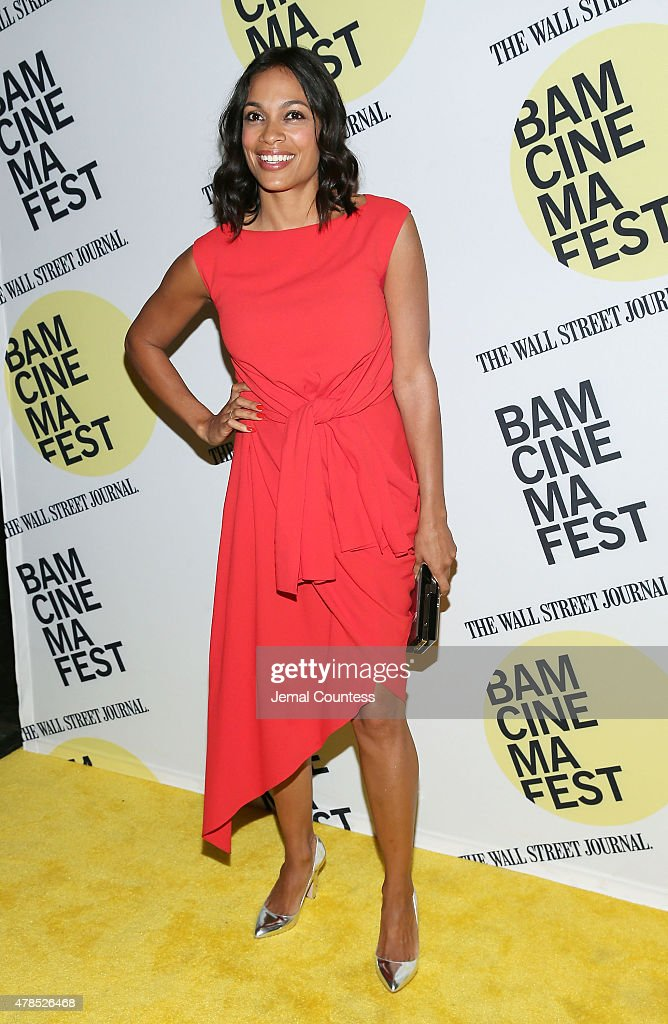 Actress Rosario Dawson attends the 'Kids' 20th Anniversary Screening at BAMcinemaFest 2015 at BAM Peter Jay Sharp Building on June 25, 2015 in New York City.