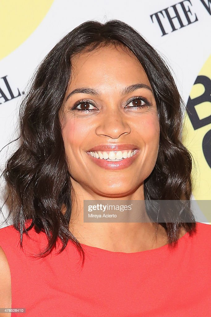 Actress Rosario Dawson attends the 'Kids' 20th Anniversary Screening during BAMcinemaFest 2015 at BAM Peter Jay Sharp Building on June 25, 2015 in New York City.
