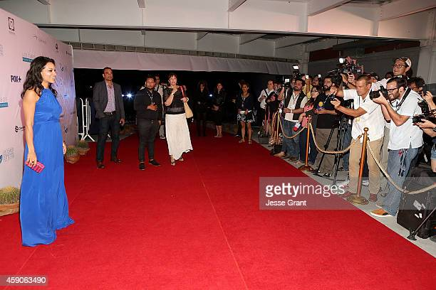 Actress Rosario Dawson attends The Los Cabos International Film Festival Closing Night Gala on November 15 2014 in Cabo San Lucas Mexico