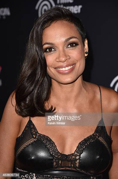 Actress Rosario Dawson attends the premiere of Dimension Films' Sin City A Dame To Kill For at TCL Chinese Theatre on August 19 2014 in Hollywood...