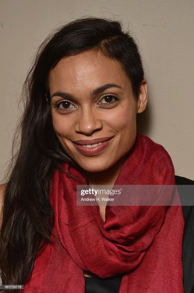 Actress Rosario Dawson attends V-Day & One Billion Rising's RISE NYC at the Hammerstein Ballroom on February 14, 2013 in New York City.