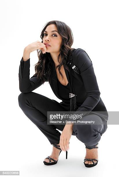 Actress Rosario Dawson is photographed on March 22 2010 in Los Angeles California