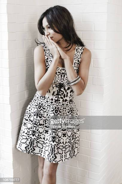 Actress Rosario Dawson poses at a portrait session for Madame Figaro in New York City, New York on December 30, 2010.