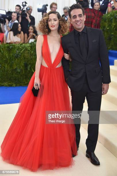 Actress Rose Byrne and Actor Bobby Cannavale attend the 'Rei Kawakubo/Comme des Garcons Art Of The InBetween' Costume Institute Gala at Metropolitan...