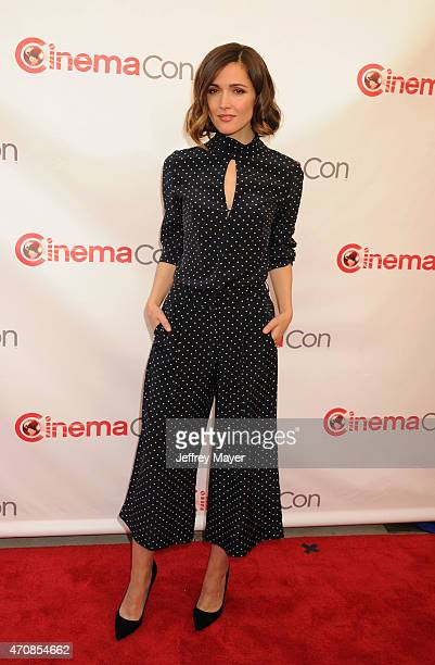 Actress Rose Byrne arrives at the 2015 CinemaCon Twentieth Century Fox Presentation at Caesar's Palace Resort and Casino on April 23 2015 in Las...