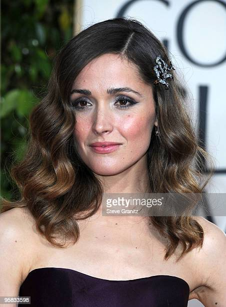 Actress Rose Byrne arrives at the 67th Annual Golden Globe Awards at The Beverly Hilton Hotel on January 17 2010 in Beverly Hills California
