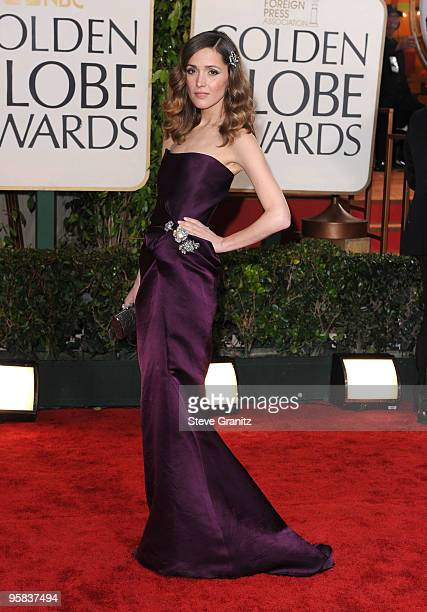 Actress Rose Byrne arrives at the 67th Annual Golden Globe Awards at The Beverly Hilton Hotel on January 17, 2010 in Beverly Hills, California.
