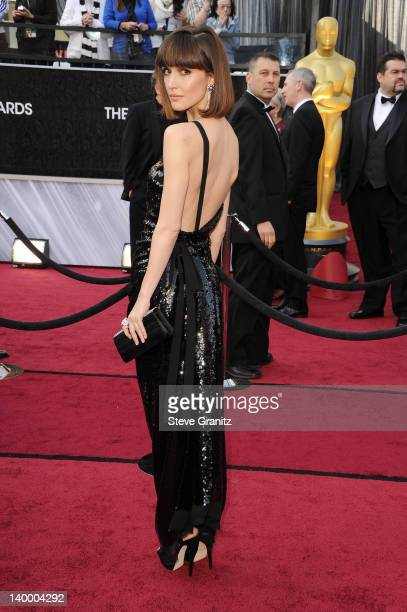 Actress Rose Byrne arrives at the 84th Annual Academy Awards held at the Hollywood Highland Center on February 26 2012 in Hollywood California