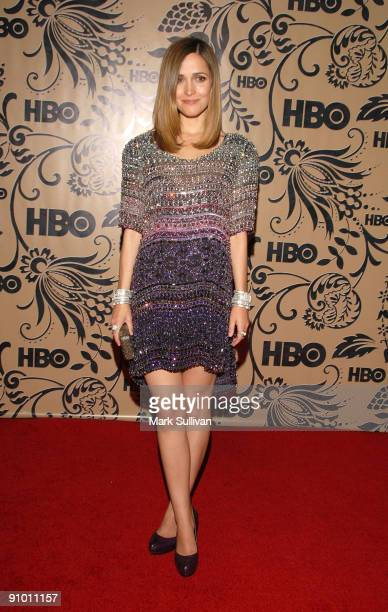 Actress Rose Byrne arrives at the HBO Post Emmy Awards Reception at the Pacific Design Center on September 20 2009 in West Hollywood California